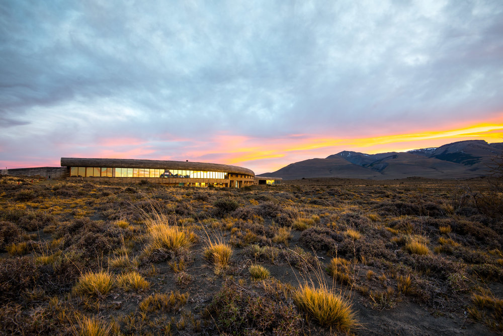 Tierra Patagonia blends perfectly into the environment