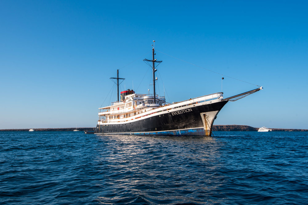 We went with Quasar Expeditions for our Galapagos Islands cruise