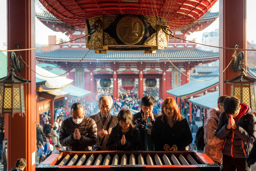 The Senso-ji Temple is the highlight of Asakusa