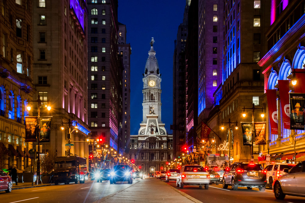 Philadelphia City Hall, one of the most beautiful buildings in the city