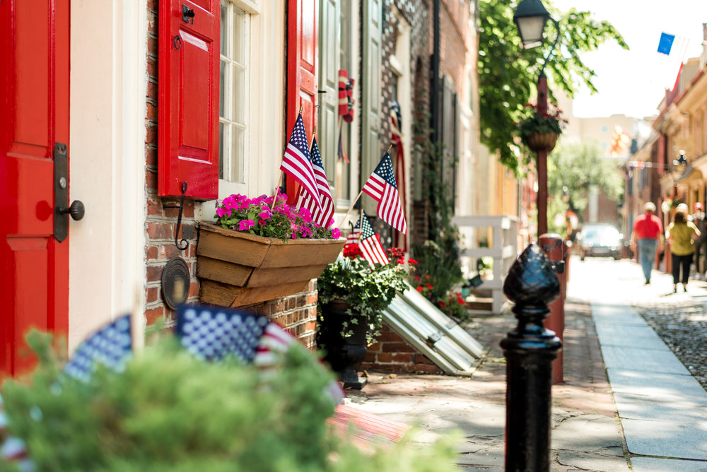 Elfreth's Alley is one of the oldest streets in the entire United States