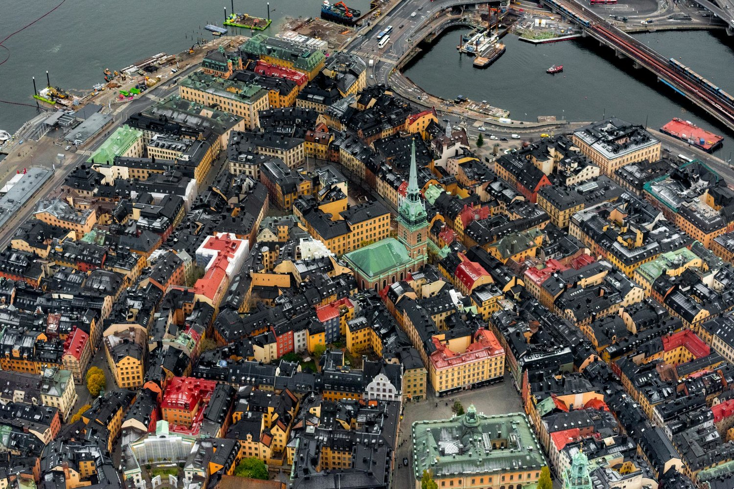Stockholm Helicopter Tours with Flyover Stockholm