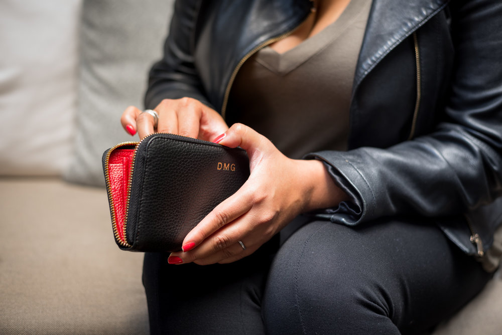 Stay organized on the road with A Cuyana Wallet