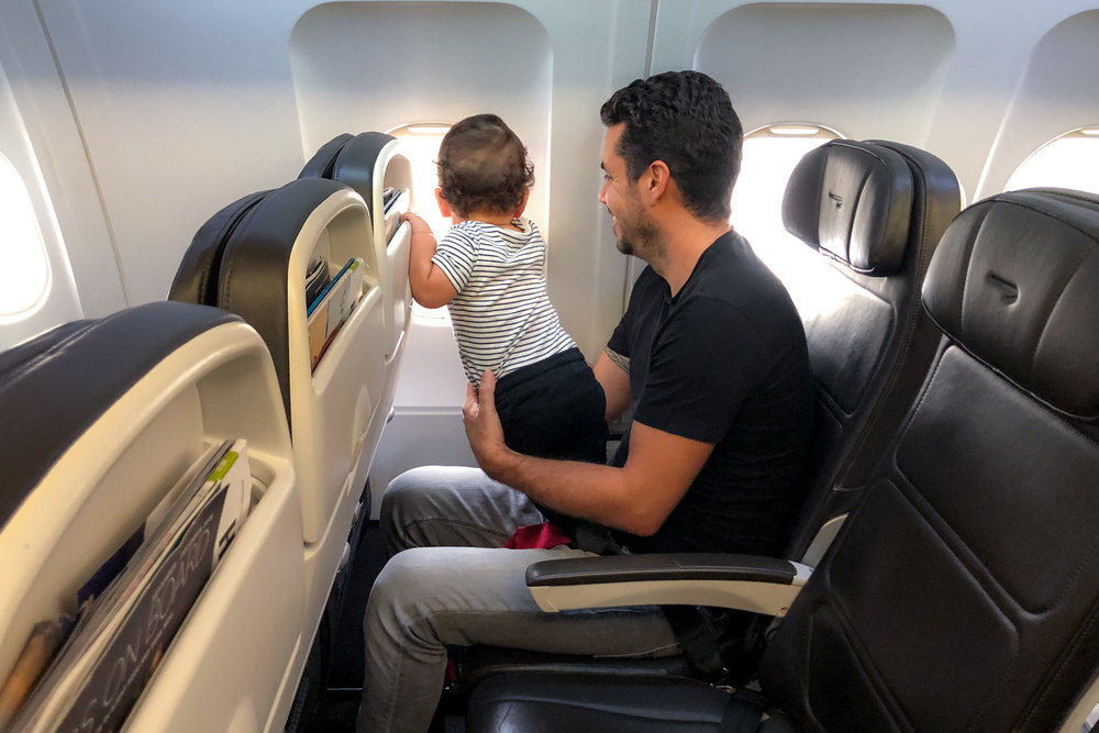 Flying with a toddler? Get them their own seat!