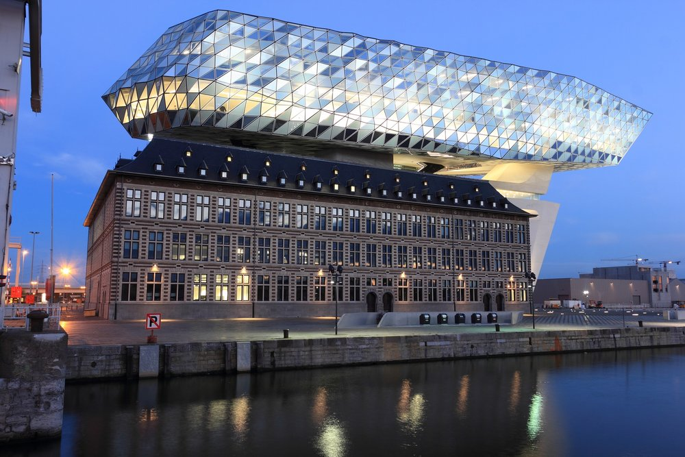 The new Port House, Antwerp Port Authority's Head Office