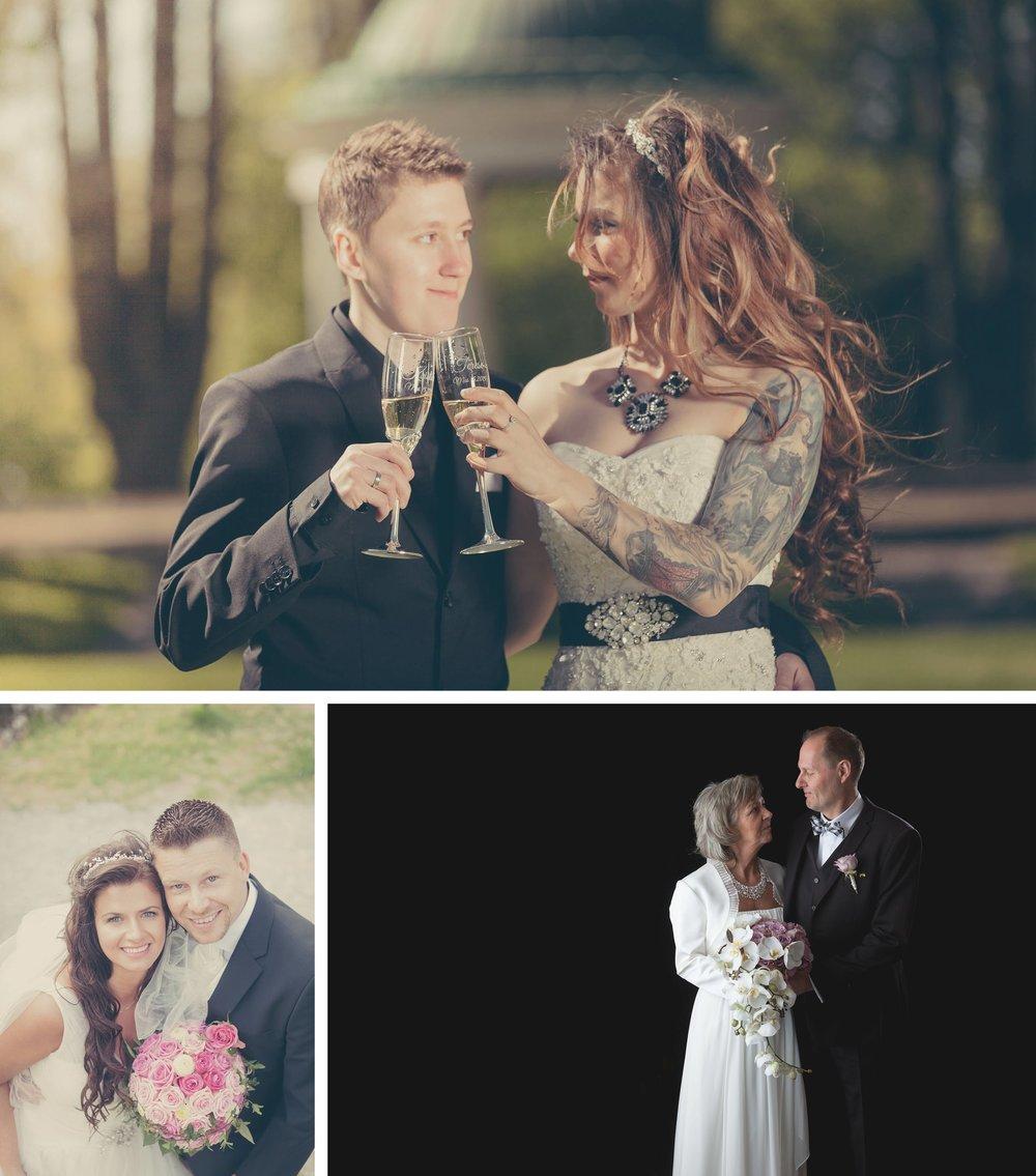 Bryllupsfotograferinger