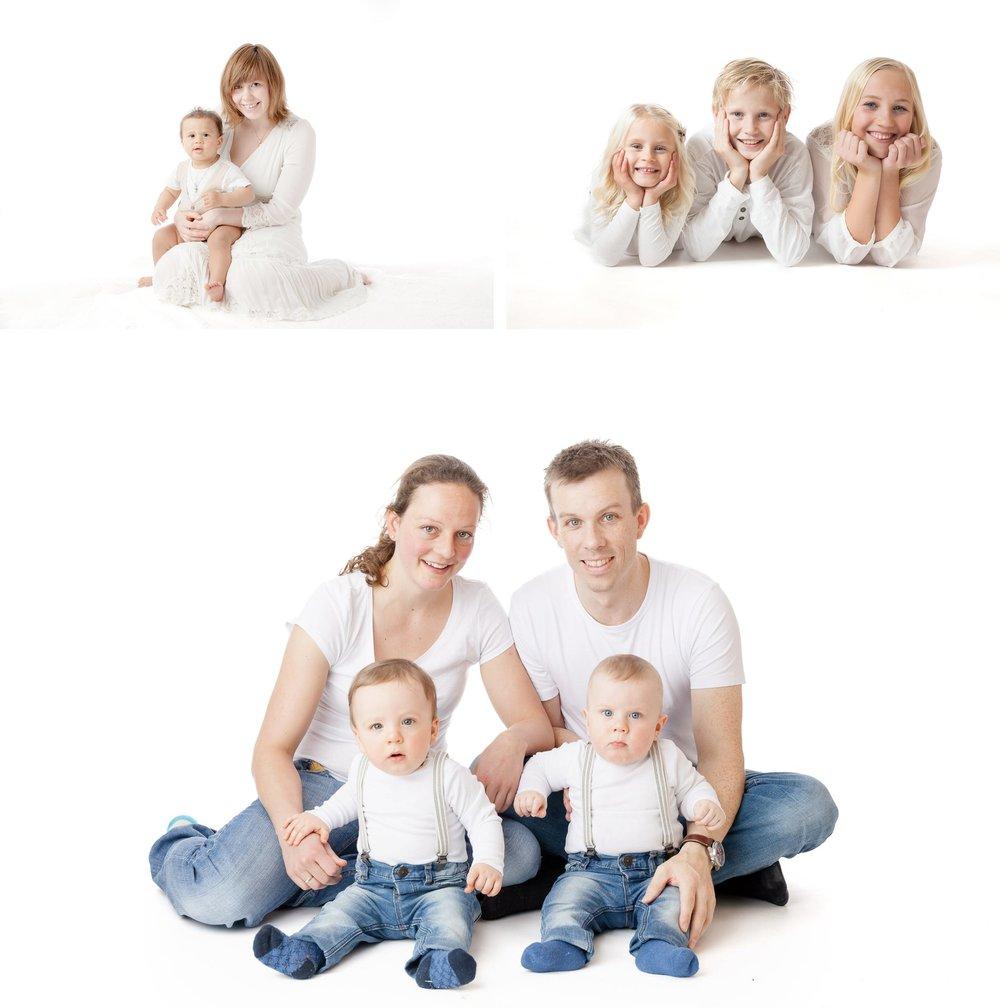 Familiefotograferinger og søskenfotografering
