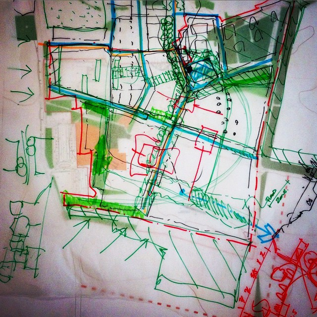 #markerpens #masterplanning #collaboration #thinkinglisteningdesigning #exteriorarchitecture