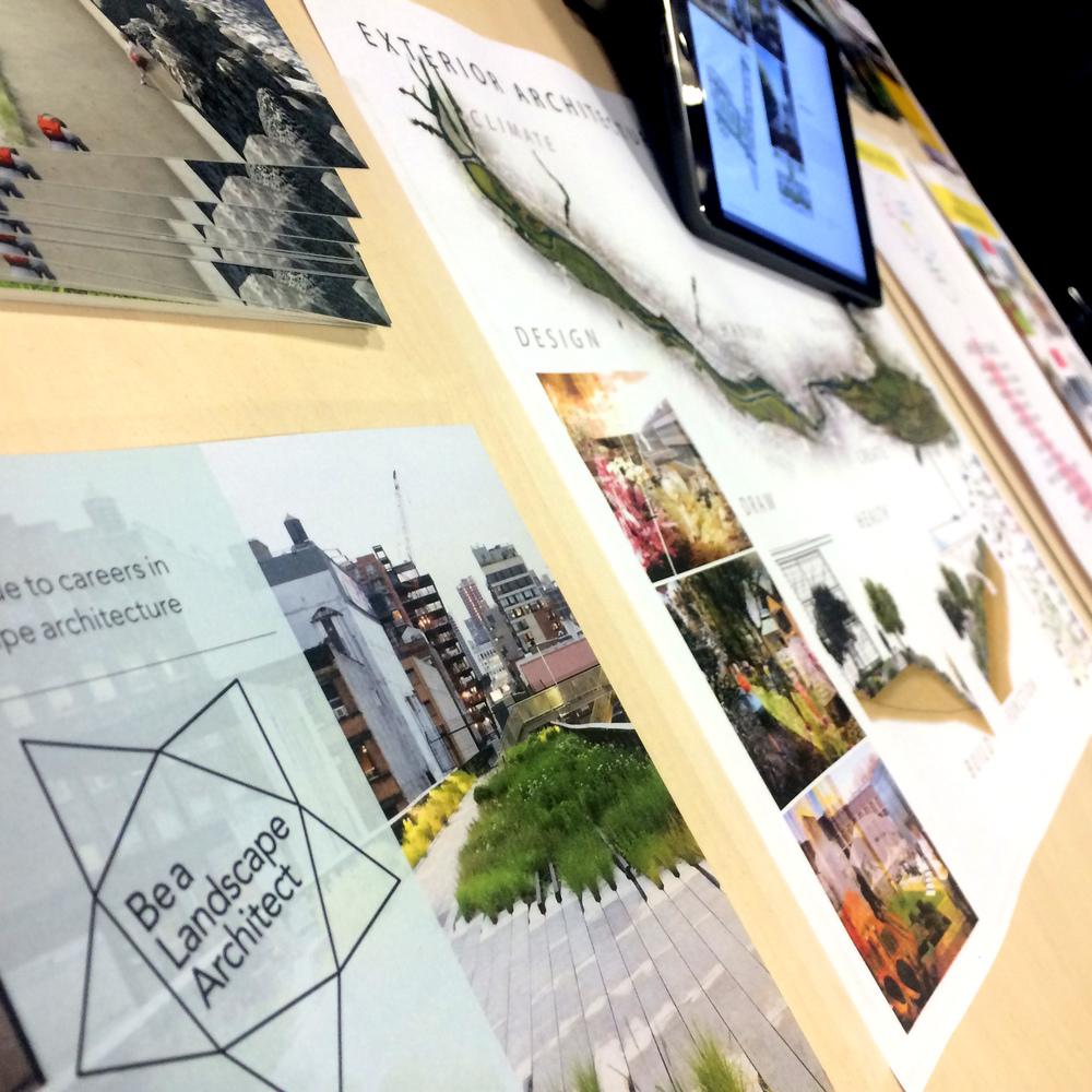 Please visit the Landscape Institute's website for budding landscape architects HERE