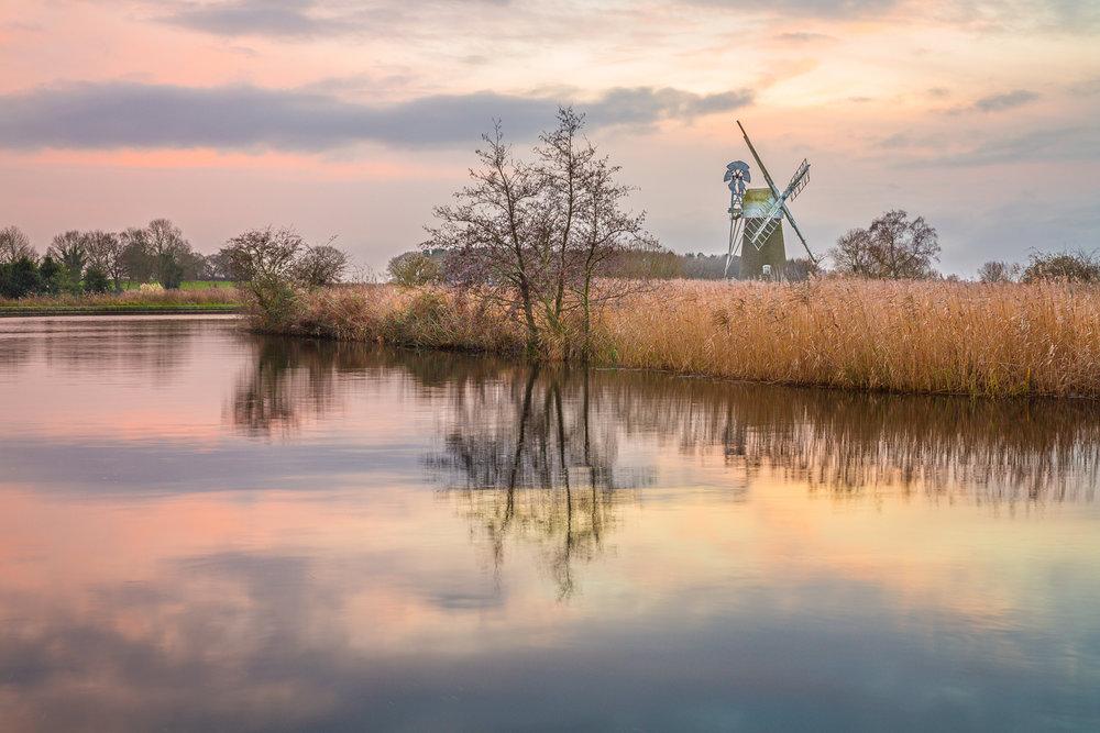 Turf Fen windmill at How Hill