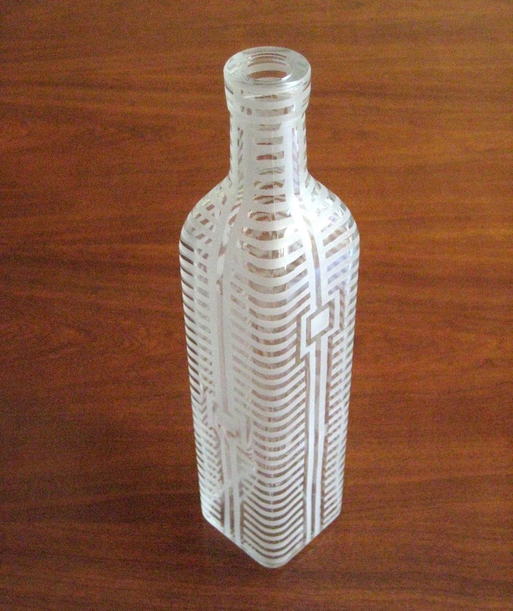 H Series Square Bottle