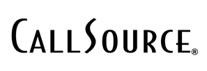 callsource logo black