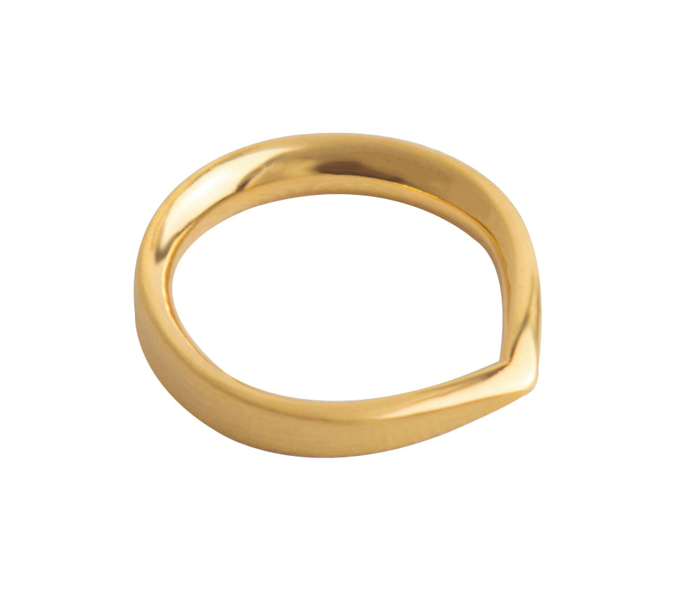Toppen Ring - 18K Fairtrade Gold