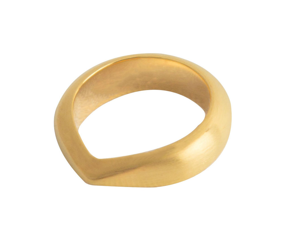 Skarp Topp Ring — 18K Fairtrade Gold