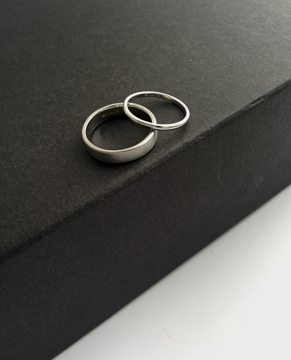 Bespoke Platinum Wedding Bands