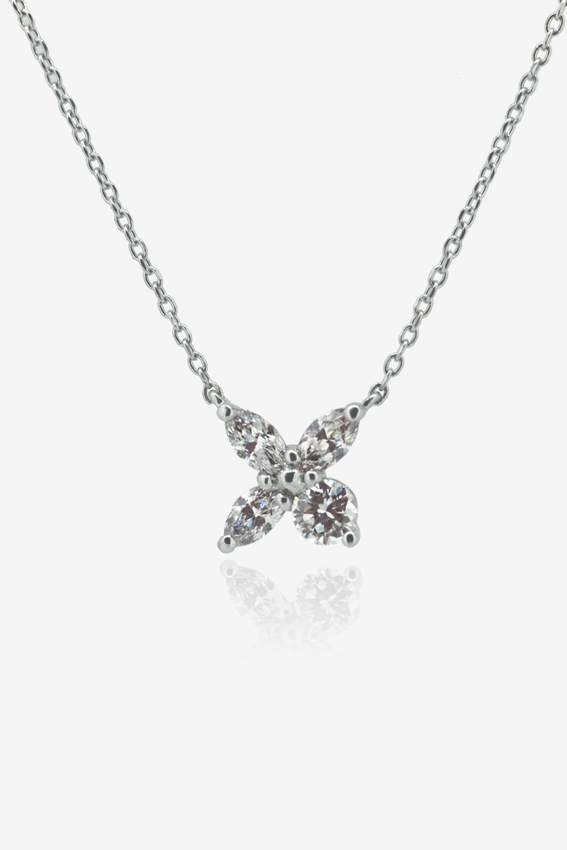 Diamond Petal pendant