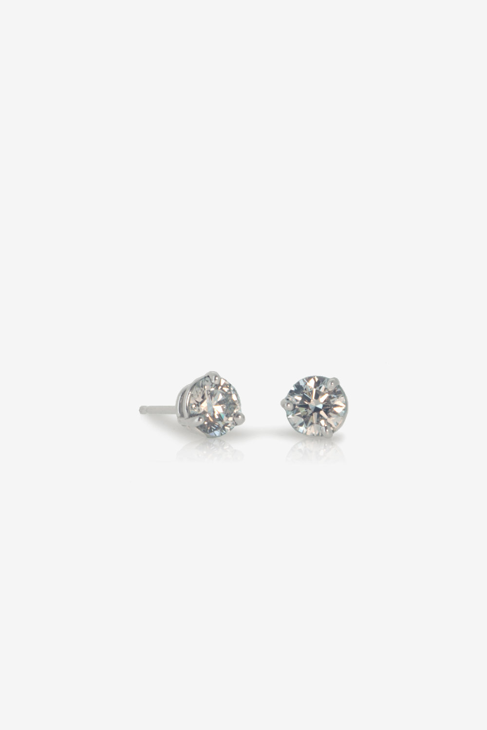 1.10ct Canada Mark GIA diamond earrings