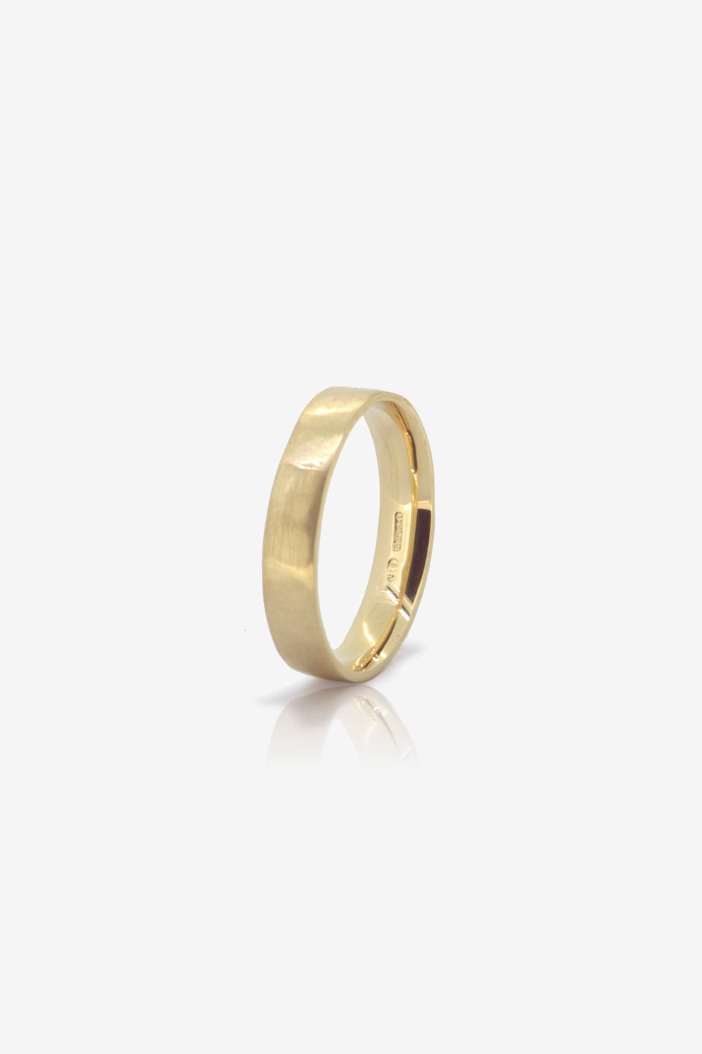 9K Ecogold wedding band