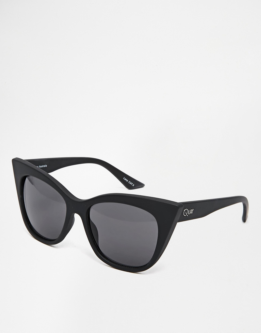 QUAY AUSTRALIA MODERN LOVE CAT EYE SUNGLASSES