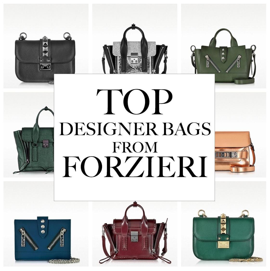 fad6dd7d674 12 DESIGNER BAGS YOU NEED FROM FORZIERI — Silver Girl