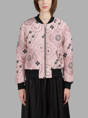 c0cdc1233 IT CLOSET: PINK BOMBER — Silver Girl