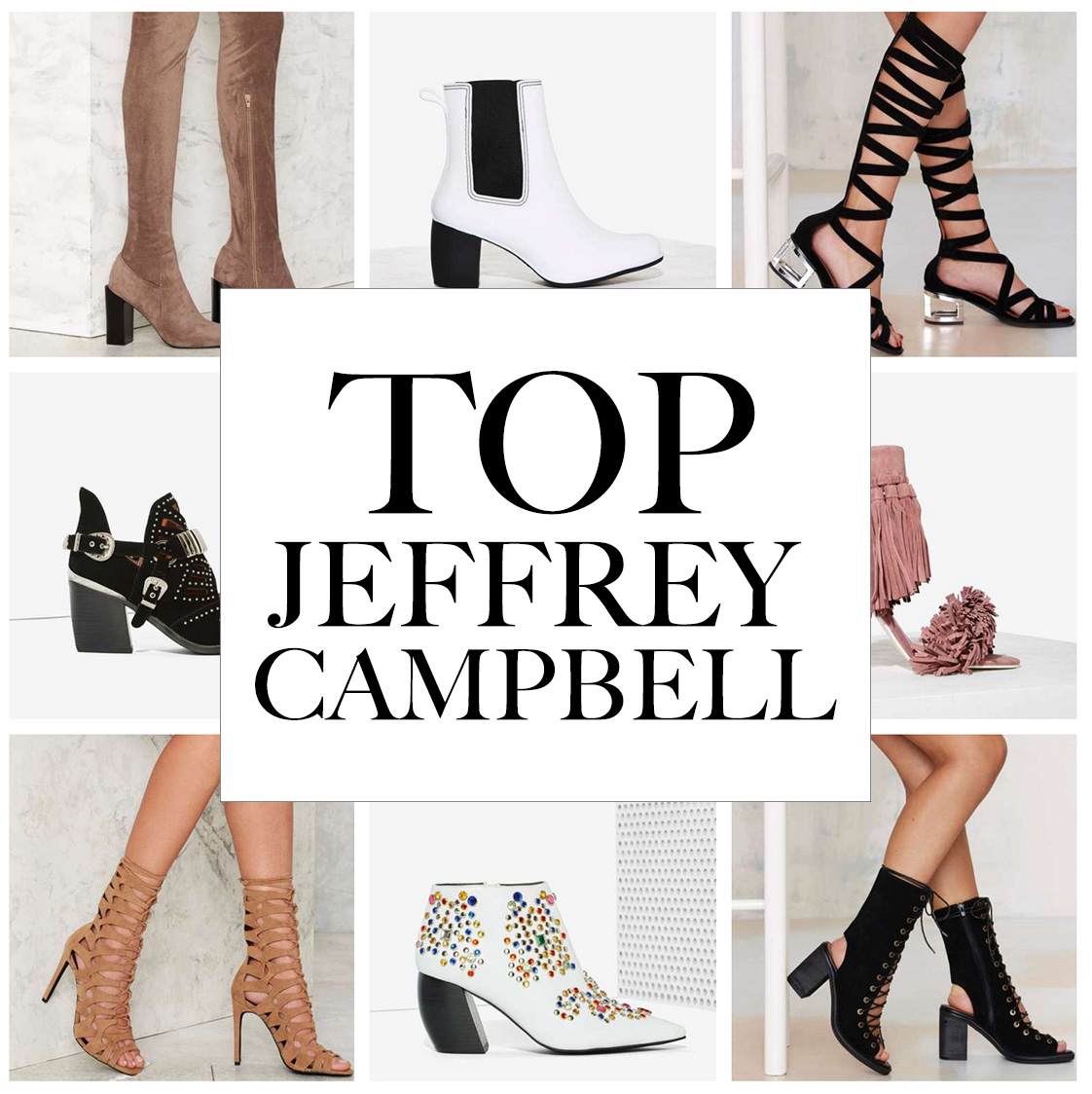 20cddac8ee9e BEST JEFFREY CAMPBELL AT NASTY GAL — Silver Girl