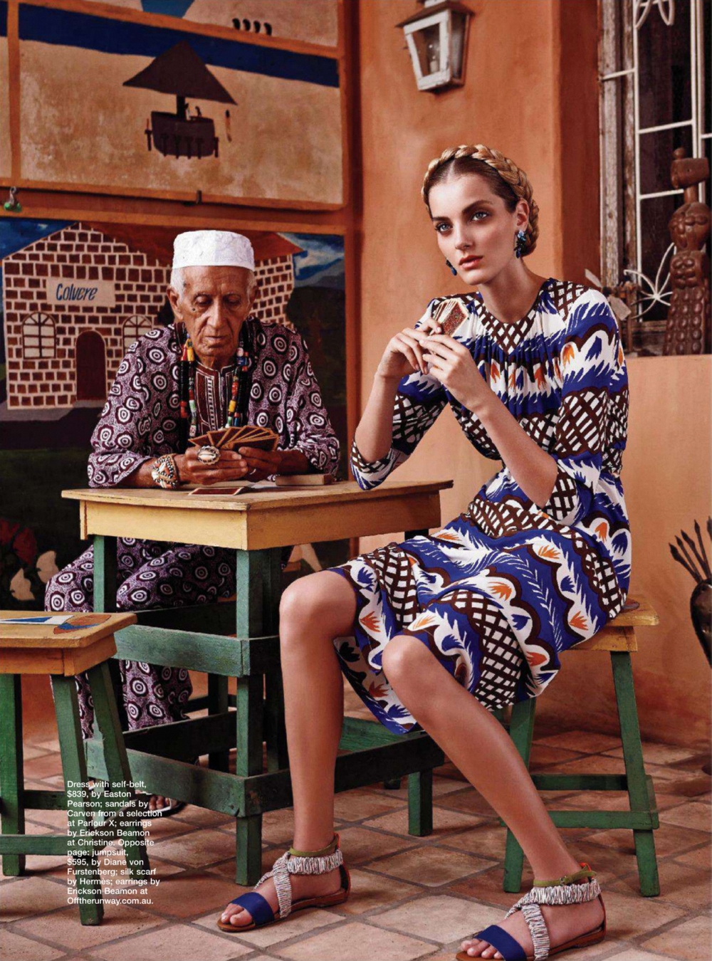 Denise Dvorakova Goes Brazil Style By Nicole Bentley for Marie Claire Australia March 2013