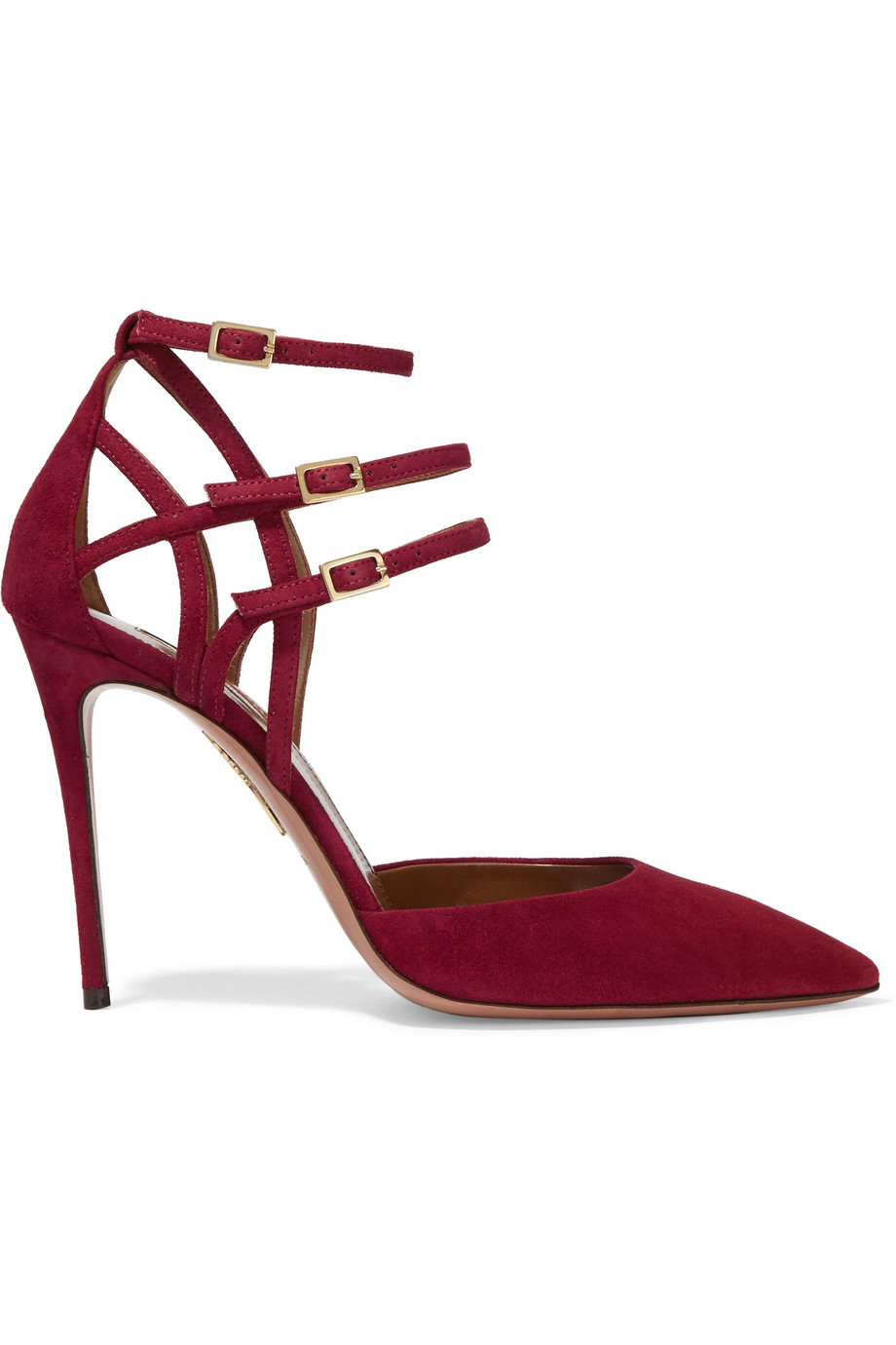 Aquazzura Ginger suede pumps