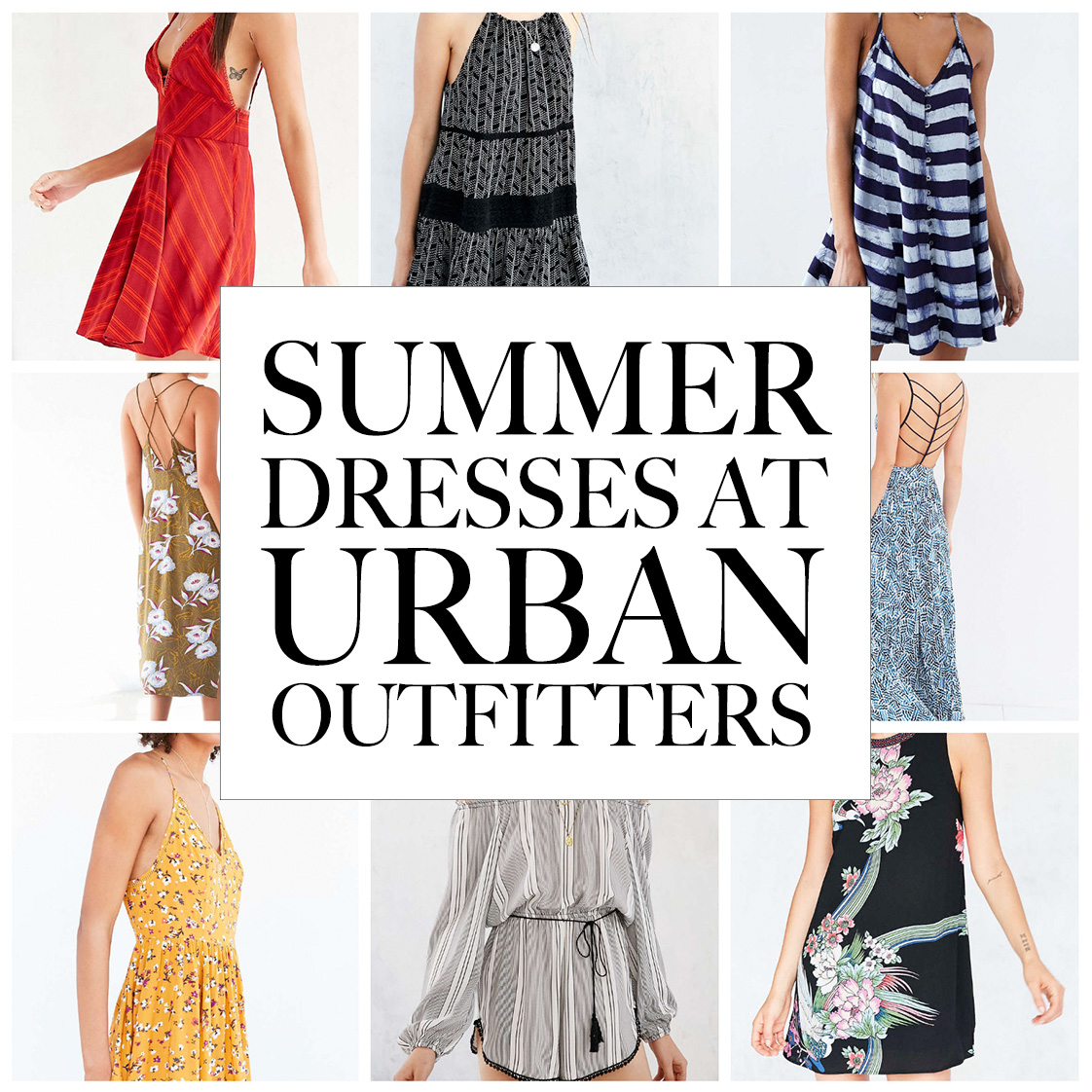 FAVORITE SUMMER DRESSES AT URBAN OUTFITTERS — Silver Girl 954294235