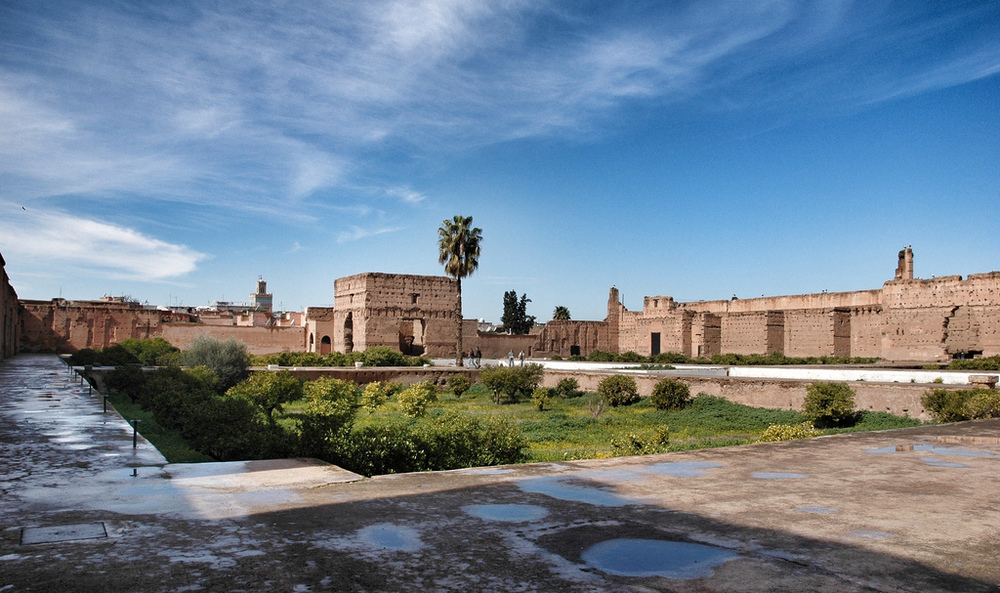 EL BADI PALACE BY CAROLYN EATON