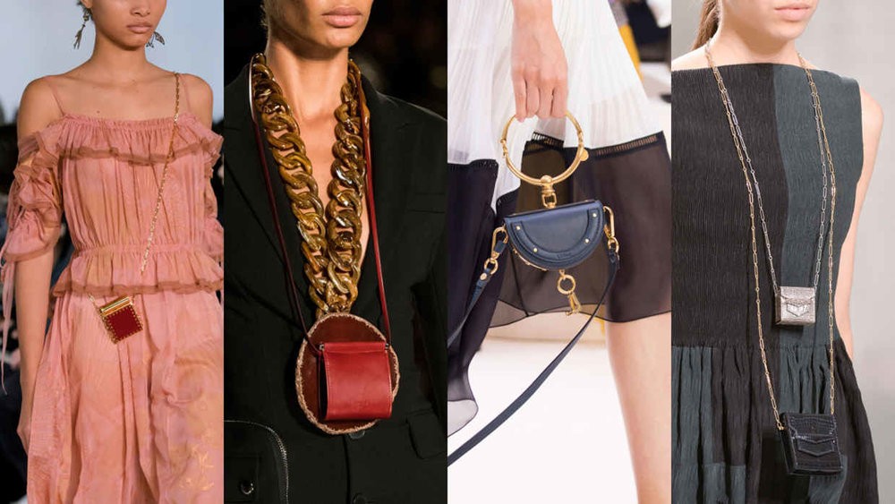 From left: Valentino, Givenchy, Chloe and Valentino. Photos: Imaxtree