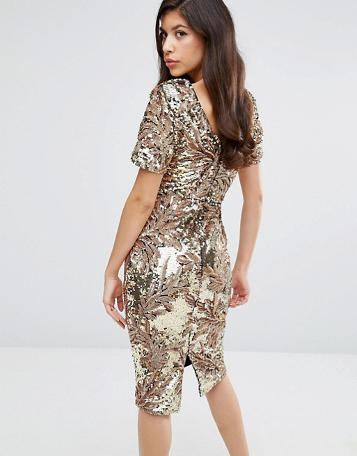 SEQUIN PART DRESSES ON SALE - Silver Girl