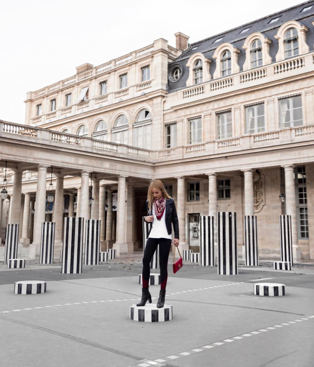 palais royal paris fashion week street style
