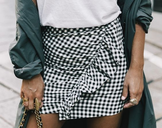 MUST HAVEOF THE WEEK - GINGHAM SKIRT