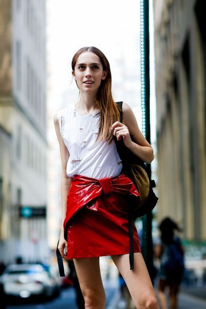 red vinyl skirt heysilvergirl 3.jpg