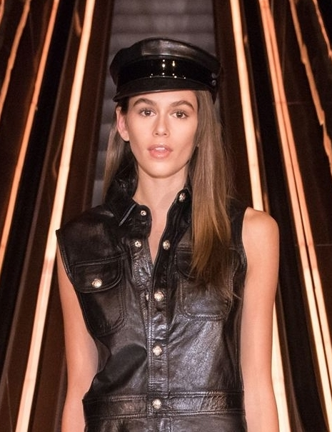 GET THE LOOK: - KAIA GERBER NYFW
