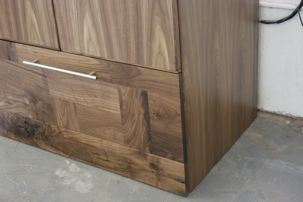 Get Dressed Harry Armoire, American black walnut.
