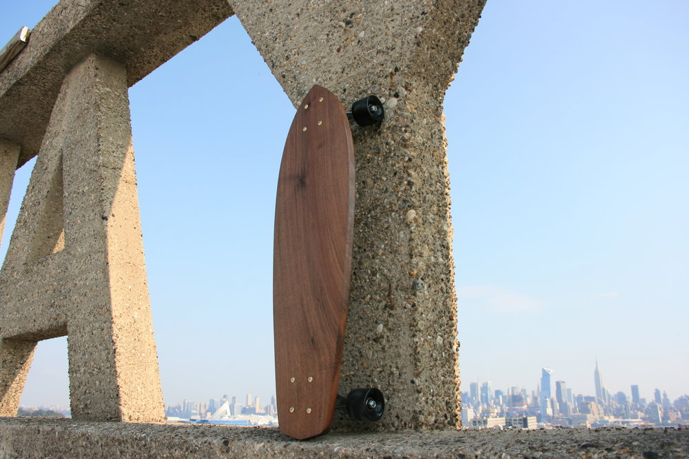 Walnut Cruiser   American Black Walnut | Brass hardware.