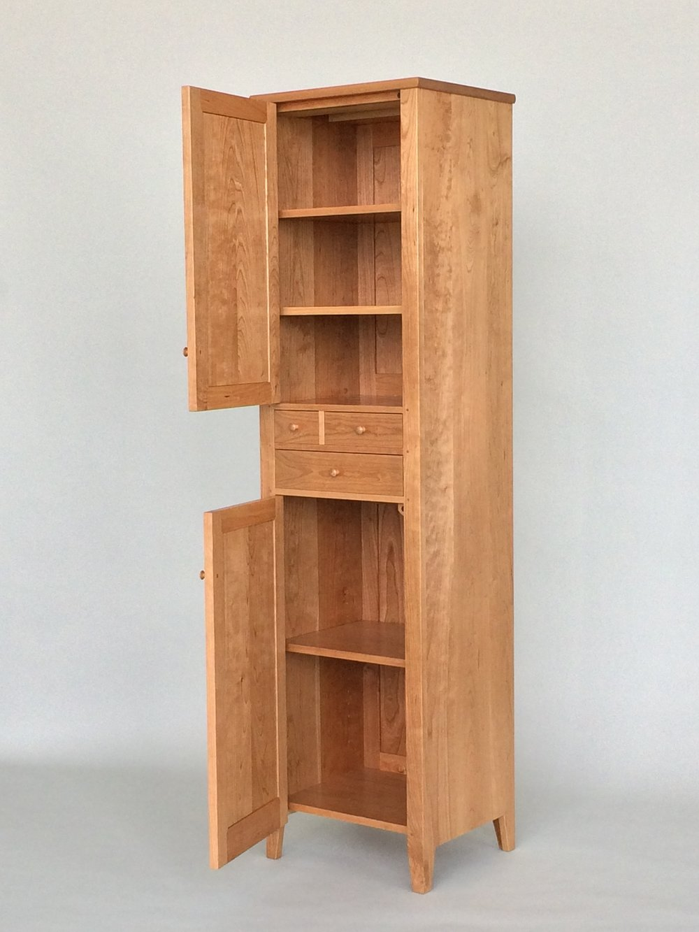 Captivating Shaker Chimney Cupboard