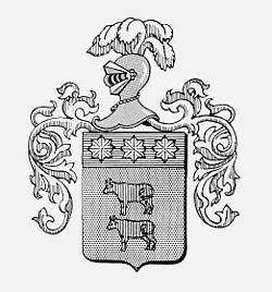 Casona Carrera Boutique Hotel Maipo Wine Valley Santiago Chile Carrera Family coat-of-arms