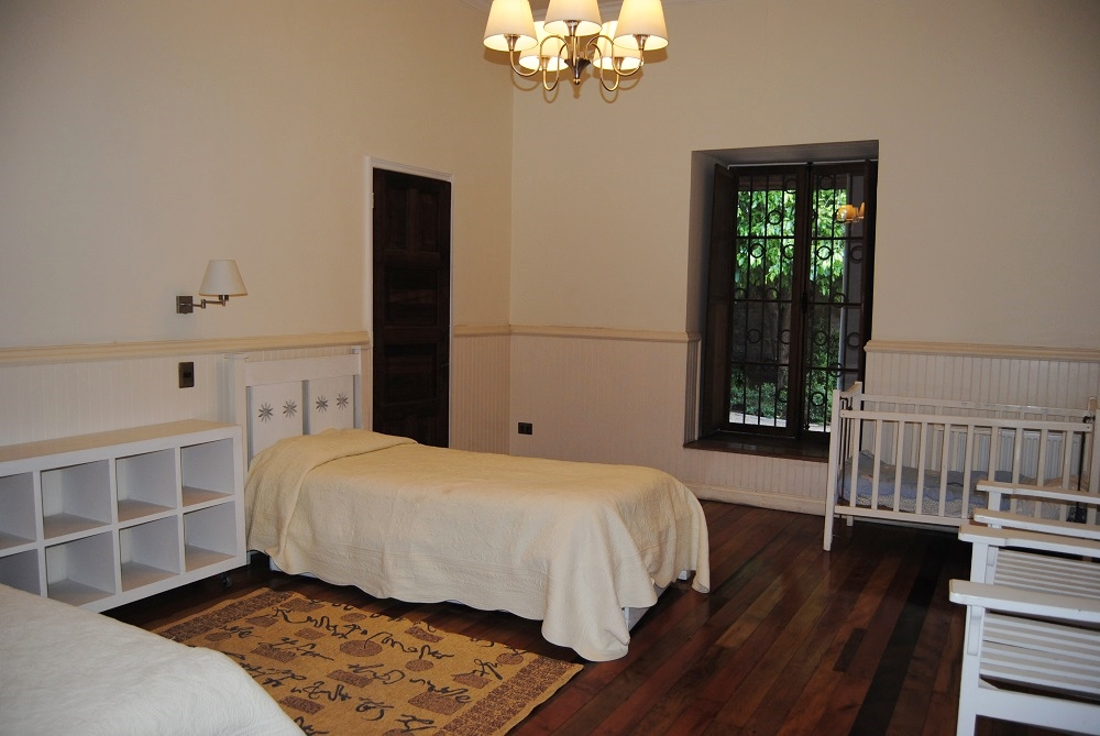 Casona Carrera Boutique Hotel Maipo Wine Valley Santiago Chile children's room