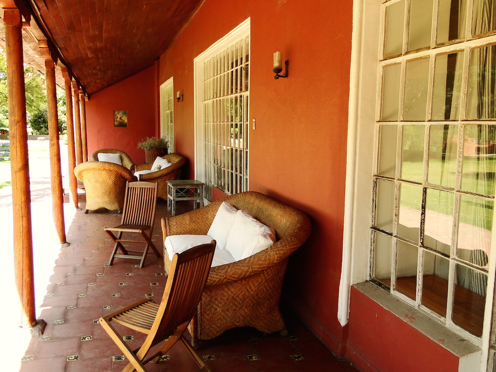 Casona Carrera Boutique Hotel Maipo Wine Valley Santiago Chile 300 year old adobe hacienda