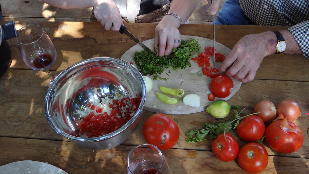 Casona Carrera Boutique Hotel Maipo Wine Valley Santiago Chile empanada cooking classes