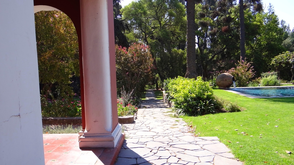 Casona Carrera alojamiento Valle de Maipo Santiago de Chile la cordillera de Los Andes.