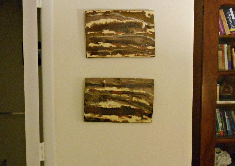 Ceramic Wall Sculptures from Maggie Minor Designs