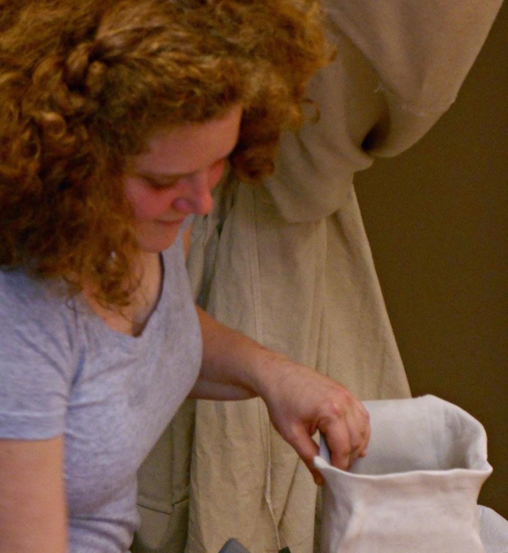 Making Modern Ceramic Organic Sculpture at Maggie Minor Designs