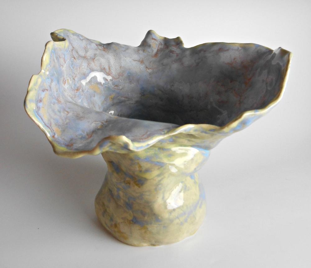 Organic Ceramic Sculpture Vase by Maggie Minor Designs