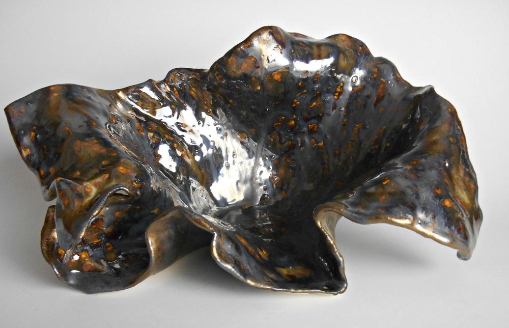 Rustic Modern Organic Ceramic Sculpture by Maggie Minor Designs