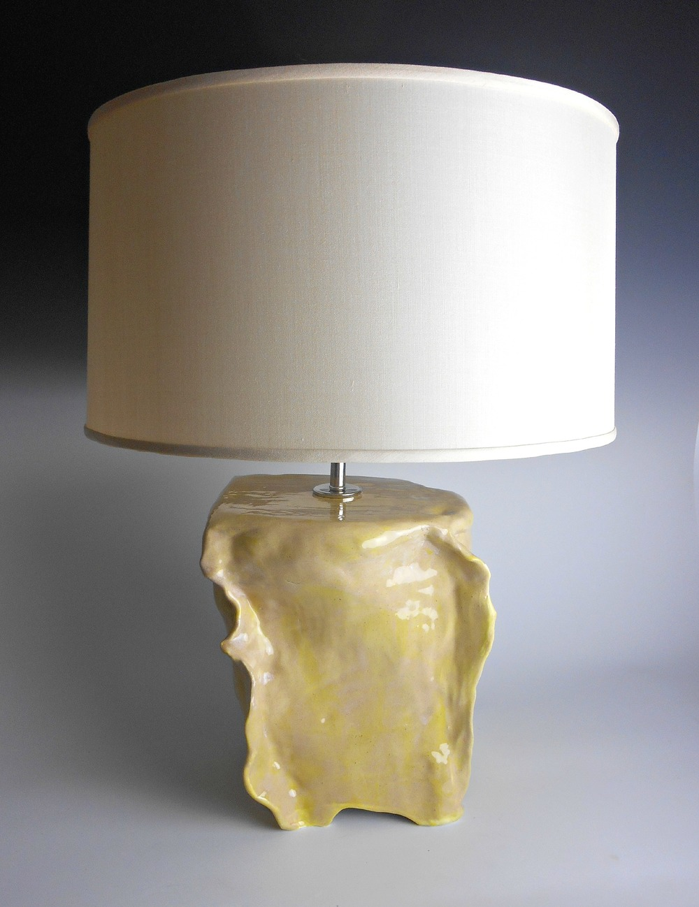 Modern Ceramic Table Lamp from the Miami Collection by Maggie Minor Designs