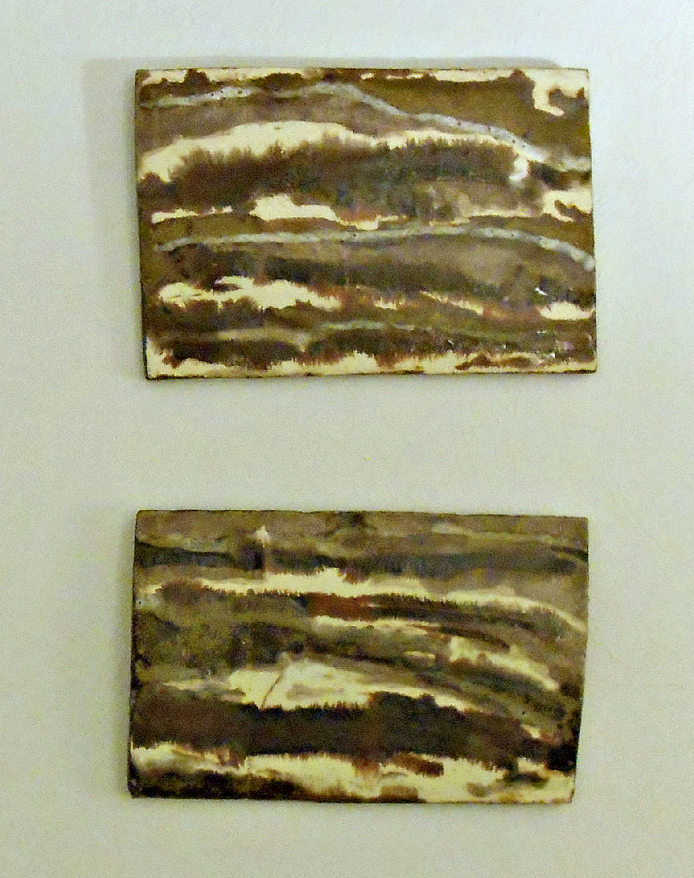 Wall Slabs that served as inspiration..